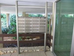תיבות דואר לבניין